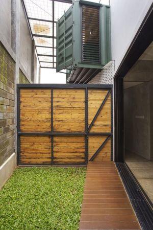 2e entrée - Container-Urban par Atelier Riri - Bekasi, Indonesie