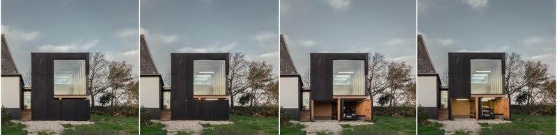 4 vues - Cliffs Impasse par ZIEGLER Antonin architecte - Senneville-sur-Fécamp, France