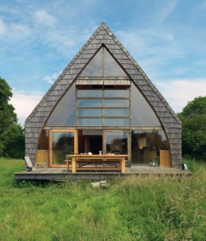 A-Frame Retreat par Jean-Baptiste Barache architecte - France - photo Céline Clanet