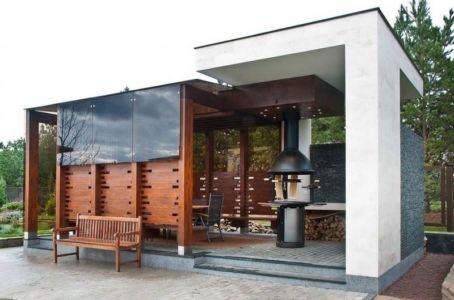 Abri barbecue - S-House par Fourth Dimension - Moscou, Russie