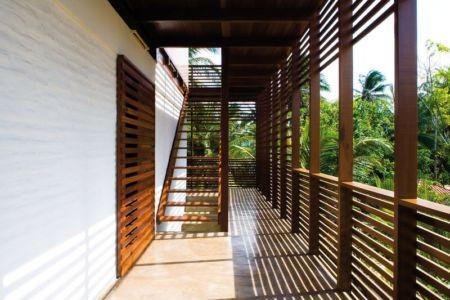 Accès Escalier Etage - Casa Tropical par Camarim - Mundau, Brézil