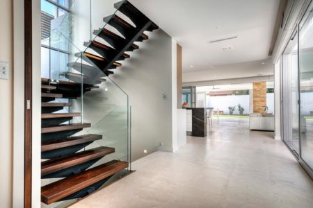 Accès Escalier Etage - cottesloe-residence par Custom-Homes - Perth, Australie