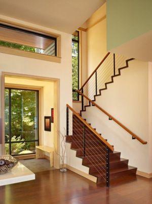 Accès Escalier Etage - port-ludlow-house par Finne - Washington, USA