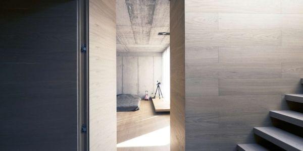 Accès Escalier - Maison Exclusive par Ofis Architects - Ljubljana, Slovenie
