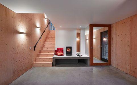 Accès Escalier - maison typique par WT Architecture - Biggar, Royaume-Uni