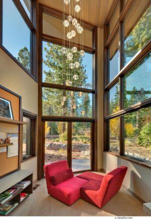 Aire Repos Baie Vitrée  - Valhalla Résidence par RKD Architects - Californie, USA