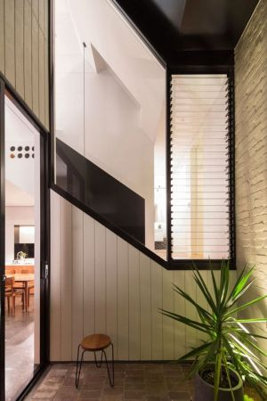 Amenagement Coin Détente Et Mini Jardin - Unfurled-House Par Christopher Polly Architect - Sydney, Australie