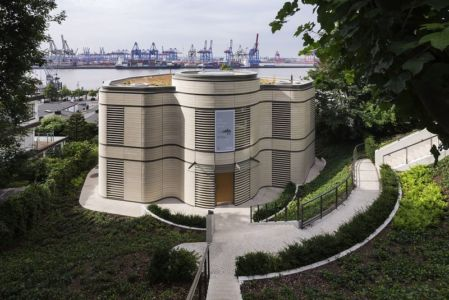 Architecture-Pavillon-par-Gmp-Architekten-Hambourd-Allemagne | + d'infos