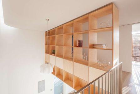 Armoire Bibliothèque & Objets Déco - Balmain-House Benn & Penna Architects - Sydney, Australie