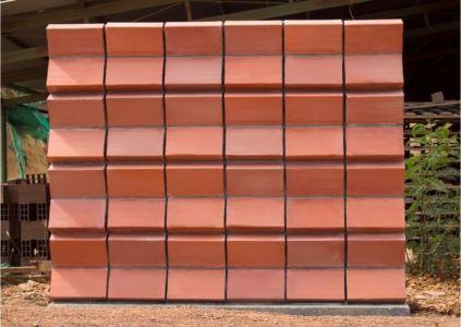 Autre forme façade murale briques - Brick-Could par bloque-termodisipador - Colombie