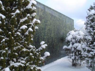 Façade Hiver - juniper-house par Murman Arkitekter - Kattammarsvik, Suède