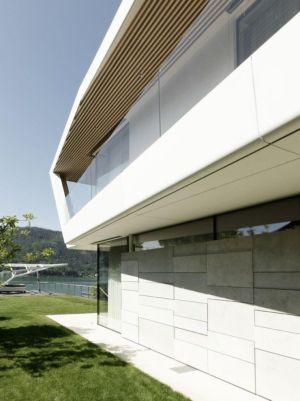 Baie Vitrée Second étage - Lake-House-Portschach Par A01 Architects - Carinthie, Autriche