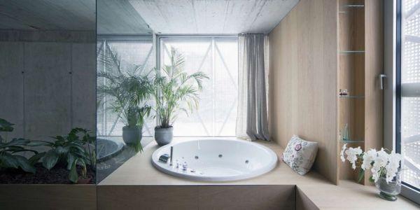 Baignoire - Maison Exclusive par Ofis Architects - Ljubljana, Slovenie