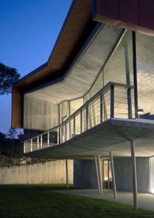 Balcon Et Rez De Chaussée Illuminé - Summer-Residence Par Fuses Viader Architects - Calonge, Espagne