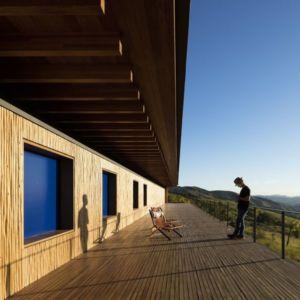 Balcon Terrasse Bois - Catucaba-Farm Par Studio MK27 - Catucaba, Brazil