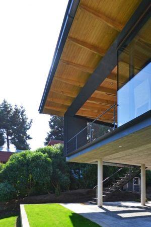 Balustrade Etage- House Cs par Alvaro Arancibia - Cachagua, Chili