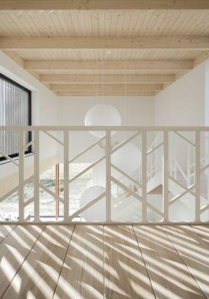 Balustrade Etage - huize-looveld par Studio Puisto Architects, Duiven, Pays-Bas