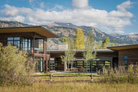 Bas Montagne - Maison Contemporaine Bois par Carney Logan Burke Architects - Wilson, Usa