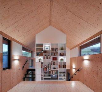 Bibliothèque - maison typique par WT Architecture - Biggar, Royaume-Uni