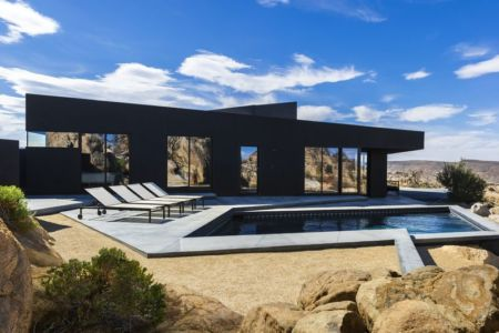 Black-Desert-House par studio Oller & Pejic - California, Usa | + d'infos