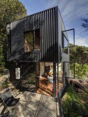 Blackpool House par Glamuzina Paterson - Waiheke Island, Australie - Photo Sam Hartnett - + d'infos