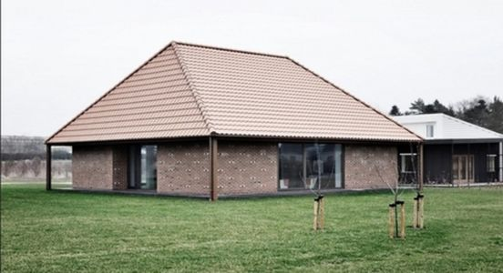 Brick House par LETH & GORI - Nyborg, Danemark - Photo STAMERS KONTOR - + d'infos