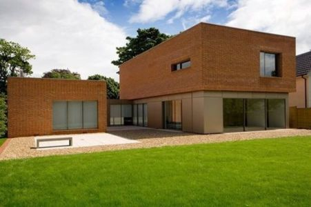 Brick house par James Gorst Architects - Aldeburgh, Royaume Uni - + d'infos