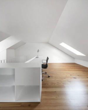 Bureau - Restelo-House Par Joao Tiago Aguiar - Lisbonne, Portugal