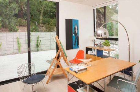 Bureau - Mid-century-family-home Par Nakhshab - San Diego, USA