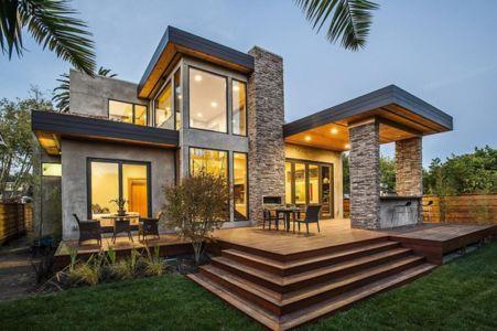 Burlingame Residence par Toby Long Design - Burlingame, Californie, Usa