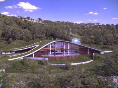 CURVY Eco-House par Luis de Garrido - Barcelone, Espagne