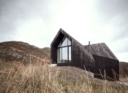Camusdarach sands house par Raw architecture workshop - Morar, United Kingdom