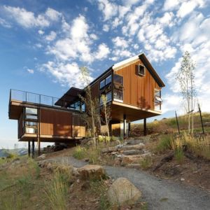 Canyon House par renee Del Architecture - Colorado, USA| + d'infos