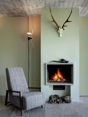 Chaise Repos & Cheminée - SV-House Par Rocco Borromini - Albosaggia, Italie