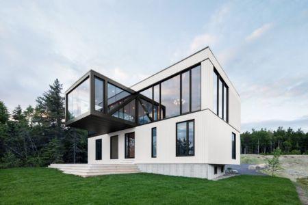 Chalet Blanche Par ACDF Architecture - Malbais, Canada 02