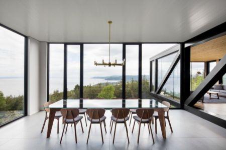 Chalet Blanche Par ACDF Architecture - Malbais, Canada 03