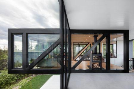 Chalet Blanche Par ACDF Architecture - Malbais, Canada 05
