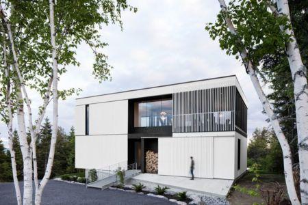 Chalet Blanche Par ACDF Architecture - Malbais, Canada 06