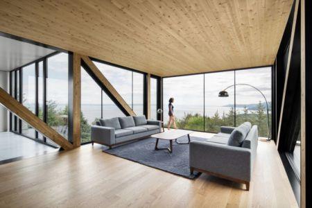 Chalet Blanche Par ACDF Architecture - Malbais, Canada 08