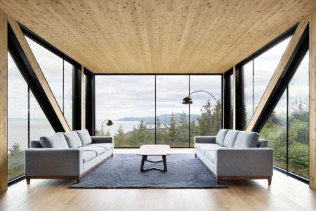 Chalet Blanche Par ACDF Architecture - Malbais, Canada 10