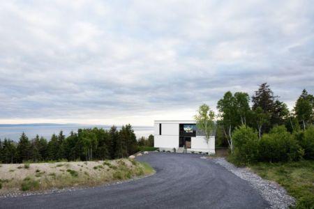 Chalet Blanche Par ACDF Architecture - Malbais, Canada 11