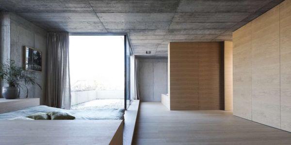 Chambre - Maison Exclusive par Ofis Architects - Ljubljana, Slovenie