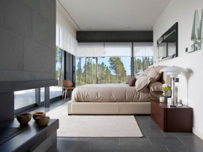 Chambre Principale - la-vinya par Lagula Arquitectes, Malavella, Espagne