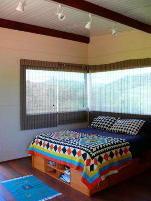 Chambre principale - Small-House-Bliss par Cabana-Arquitetos - Brésil