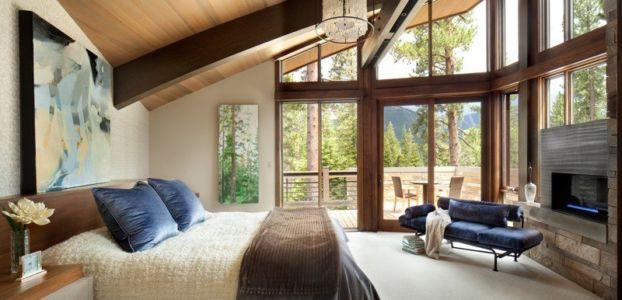 Chambre principale - Valhalla Résidence par RKD Architects - Californie, USA
