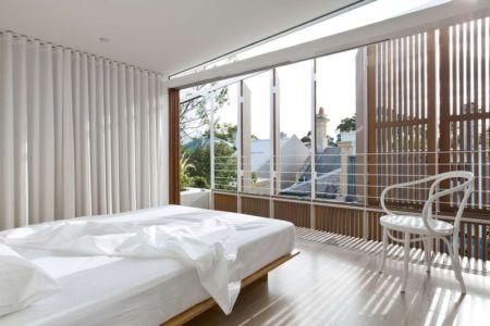 Chambre - Balmain-House Benn & Penna Architects - Sydney, Australie
