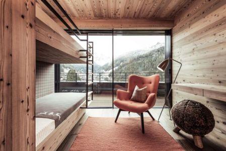 Chambre Lit étage - Villa-A Par Perathoner - Selva De Val Gardena, Italie