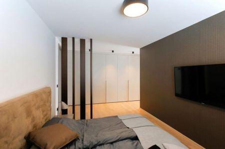 Chambre Principale - Maison En T Par SoNo Arhitekti - Slovénie