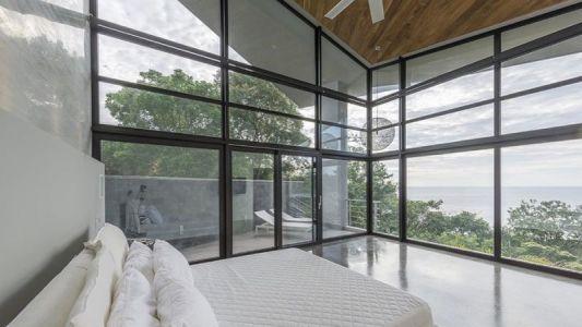 Chambre Principale & Grande Baie Vitrée - Casa Sea La Vie Par Sarco Architects, Costa Rica