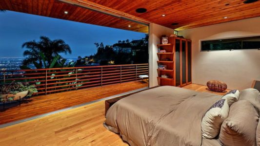 Chambre Principale Ouverte - Wood-Clad-Home Par Space International - Los Angeles, Etats-Unis
